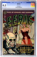 Golden Age (1938-1955):Horror, Eerie #1 (Avon, 1951) CGC VG+ 4.5 Off-white pages....