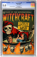 Golden Age (1938-1955):Horror, Witchcraft #4 (Avon, 1952) CGC VG/FN 5.0 Off-white to whitepages....
