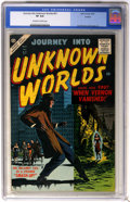 Silver Age (1956-1969):Horror, Journey Into Unknown Worlds #57 (Atlas, 1957) CGC VF 8.0 Off-whiteto white pages....