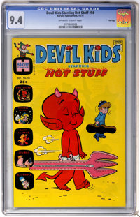 Devil Kids #56 File Copy (Harvey, 1972) CGC NM 9.4 Off-white to white pages