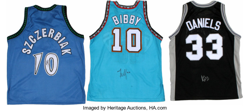 d091b3b7b Current NBA Stars Signed Jerseys Lot of 3. Each of the current