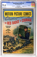 Golden Age (1938-1955):Miscellaneous, Motion Picture Comics #105 The Red Badge of Courage - Crowley Copy pedigree (Fawcett, 1951) CGC NM+ 9.6 Off-white pages....