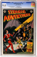 Golden Age (1938-1955):Science Fiction, Strange Adventures #18 (DC, 1952) CGC VF/NM 9.0 Cream to off-whitepages. Holy Man-Bat! Captain Comet encounters a bat-winge...
