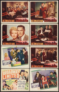 "Movie Posters:Comedy, Broadway Limited Lot (United Artists, 1941). Title Lobby Card & Lobby Cards (7)(11"" X 14""). Comedy.. ... (Total: 8 Items)"