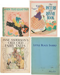 Books:Children's Books, Four Large Illustrated Children's Books. [including:] Jane Randall.When Toys Could Talk. Illustrated by F. B. P... (Total: 4Items)