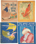 Books:Children's Books, Four Large Children's Books Illustrated by F. B. Peat. [including:]The Picture and Rhyme Book. [and:] Frank N. Sh... (Total: 4Items)