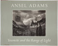 Books:Signed Editions, Ansel Adams. Yosemite and the Range of Light. Boston: New York Graphic Society, 1981. Fourth printing. Signed b...