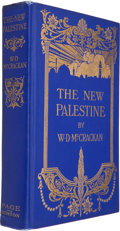 Books:Signed Editions, W. D. McCrackan. The New Palestine. Boston: The Page Company, 1922. First edition. Signed by McCrackan. Octa...