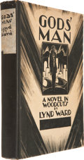 Books:First Editions, Lynd Ward. God's Man, A Novel in Woodcuts. New York:Jonathan Cape and Harrison Smith, [1929]. First edi...