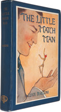 Books:First Editions, Luigi Barzini. The Little Match Man. Illustrations by HattieLongstreet. Philadelphia: The Penn Publishing Company, ...