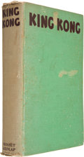 Books:First Editions, Delos W. Lovelace, Edgar Wallace and Merian C. Cooper. KingKong. Illustrated with Scenes from the Radio Picture. Ne...