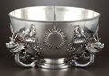 Silver & Vertu:Hollowware, A CHINESE EXPORT SILVER BOWL . Unidentified maker, Canton, China, circa 1825-1875. Marks: KC, (shop mark). 6-1/4 x 12 in...