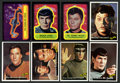 Non-Sport Cards:Sets, 1976 Topps Star Trek Complete Set Plus Stickers (88+22). ...