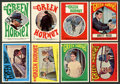 "Non-Sport Cards:Sets, 1966 Topps R705-10 ""Green Hornet"" Stickers Complete Set (44). ..."