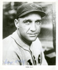 """Baseball Collectibles:Photos, George """"Highpockets"""" Kelly Signed Photograph...."""