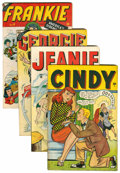 Golden Age (1938-1955):Miscellaneous, Timely Teen Humor Comics Group (Timely, 1947).... (Total: 4 Comic Books)