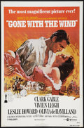 "Movie Posters:Academy Award Winners, Gone with the Wind Lot (MGM, R-1980). One Sheet (27"" X 41"") and Window Card Style Special Poster (MGM, R-1980) (17"" X 22""). ... (Total: 2 Items)"