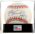Autographs:Bats, Mike Schmidt Single Signed Baseball, PSA Gem Mint 10....