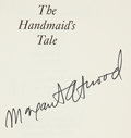 Books:Signed Editions, Margaret Atwood. The Handmaid's Tale. Boston: Houghton Mifflin Company, 1986. First American edition, first printing...