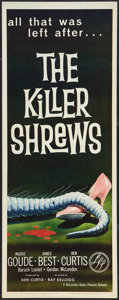 "Movie Posters:Science Fiction, The Killer Shrews (McLendon Radio Pictures, 1959). Insert (14"" X36""). Science Fiction.. ..."