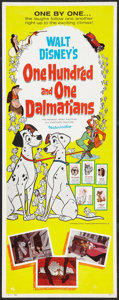"Movie Posters:Animated, 101 Dalmatians (Buena Vista, 1961). Insert (14"" X 36""). Animated....."