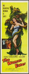 """Movie Posters:Horror, The Woman Eater (Columbia, 1959). Insert (14"""" X 36""""). Horror.. ..."""