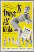 """Movie Posters:Rock and Roll, Twist All Night Lot (American International, 1962). One Sheets (2)(27"""" X 41"""") and Lobby Cards (10) (11"""" X 14""""). Rock and Ro...(Total: 12 Items)"""