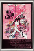 "Movie Posters:Musical, My Fair Lady (Warner Brothers, 1964). One Sheet (27"" X 41""). Musical.. ..."