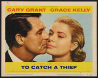 """To Catch a Thief (Paramount, 1955). Lobby Card (11"""" X 14""""). Hitchcock"""