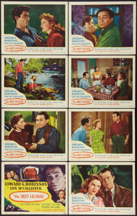 """The Red House (United Artists, 1947). Lobby Card Set of 8 (11"""" X 14""""). Mystery. ... (Total: 8 Items)"""