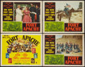 "Movie Posters:Western, Fort Apache (RKO, 1948). Title Lobby Card & Lobby Cards (3) (11"" X 14""). Western.. ... (Total: 4 Items)"