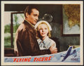 "Movie Posters:War, Flying Tigers (Republic, 1942). Lobby Card (11"" X 14""). War.. ..."