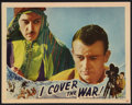 "Movie Posters:Action, I Cover the War (Universal, 1937). Lobby Card (11"" X 14""). Action....."