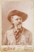 "Entertainment Collectibles, William F. ""Buffalo Bill"" Cody: Cabinet Card Photograph...."
