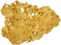 Western Expansion:Goldrush, California Crystalline Gold: A Superb, Massive Specimen WeighingWell over Half a Pound. ...