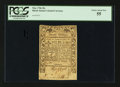 Colonial Notes:Rhode Island, Rhode Island May 1786 20s PCGS Choice About New 55.. ...
