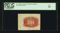 Fractional Currency:Second Issue, Fr. 1314SP 50¢ Second Issue Wide Margin Back PCGS New 62.. ...