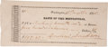 "Autographs:U.S. Presidents, Andrew Jackson Bank Note Signed as the seventh president, 5.75"" x2.5"", Washington, August 21, 1835, drawn on the ""Bank of..."