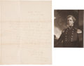 "Autographs:Military Figures, Stephen Watts Kearny Autograph Letter Signed as captain of the 1st Infantry. One page, 7.75"" x 9.75"", Baton Rouge [Louisiana..."