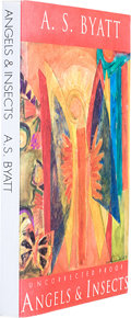 Books:First Editions, A. S. Byatt. Angels & Insects. London: Chatto &Windus, 1992. Uncorrected proof copy of the first edition. Publi...