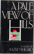 Books:Signed Editions, Kazuo Ishiguro. A Pale View of Hills. New York: G. P. Putnam's Sons, [1982]. First American edition. Inscribed and...