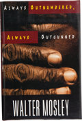 Books:Signed Editions, Walter Mosley. Always Outnumbered, Always Outgunned. New York London: W. W. Norton & Company, [1997]. First edition....