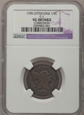 Half Cents: , 1795 1/2 C Lettered Edge--Corrosion--NGC Details. VG. C-1. NGCCensus: (2/47). PCGS Population (5/110). Mintage: 139,690. ...