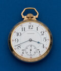 Timepieces:Pocket (post 1900), Waltham, 16 Size, 21 Jewel, Crescent St.. ...