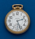 Timepieces:Pocket (post 1900), Waltham, 16 Size, 23 Jewel, Vanguard. ...