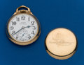 Timepieces:Pocket (post 1900), Illinois, 23 Jewel, 60 Hour Bunn Special, Grade 163 A Elinvar. ...