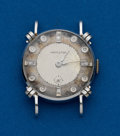 Timepieces:Wristwatch, Hamilton, 14k, White Gold, Diamond Dial Wristwatch. ...