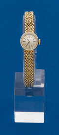 Timepieces:Wristwatch, Rolex, 14k, Ladies Gold Wristwatch. ...