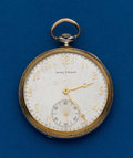 Timepieces:Pocket (post 1900), Waltham, 21 Jewel, 14k, Two-Tone Maximus A. ...
