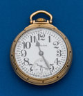 Timepieces:Pocket (post 1900), Hamilton 992B, 21 Jewel, 16 Size . ...
